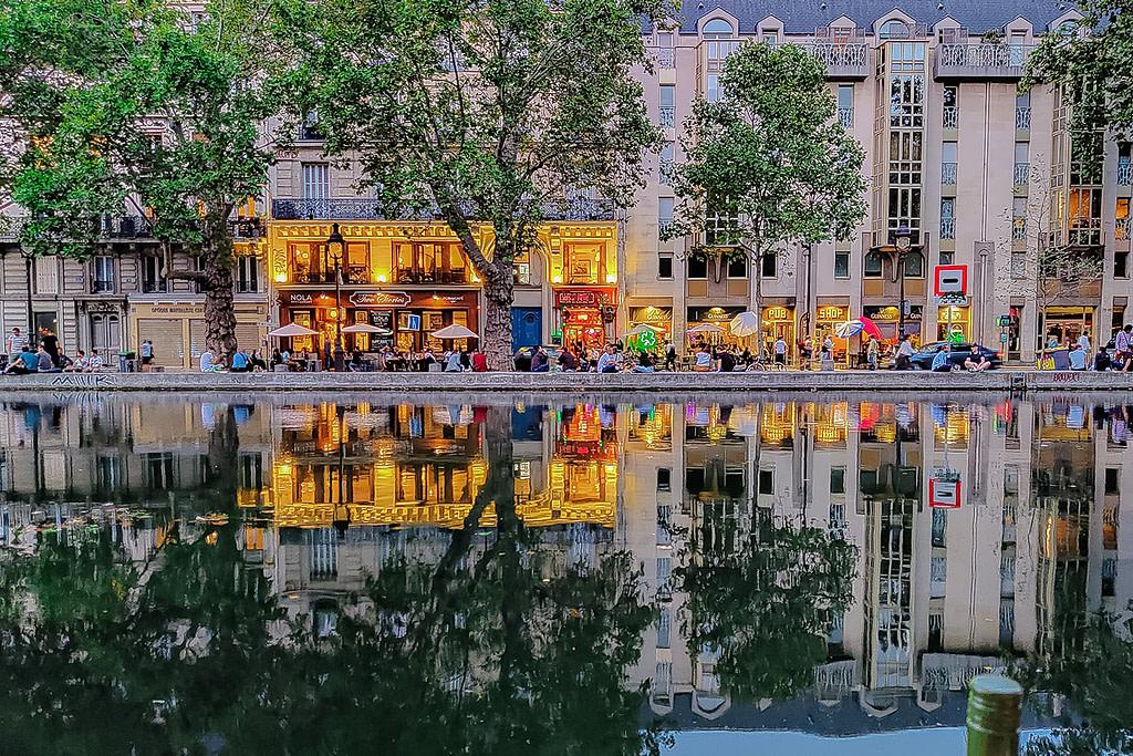 Canal St Martin, 10th arrondissement, Paris