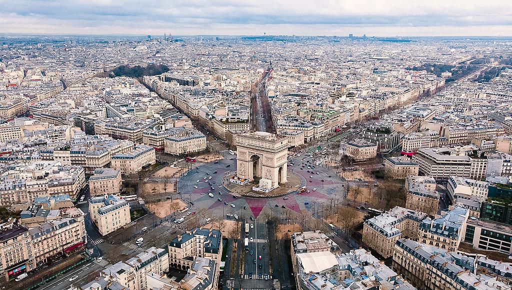 Arc de Triomphe, 8th arrondissement, Paris