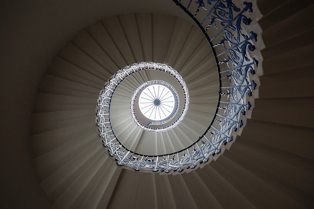 Tulip Staircase, Queen's House, Greenwich, London