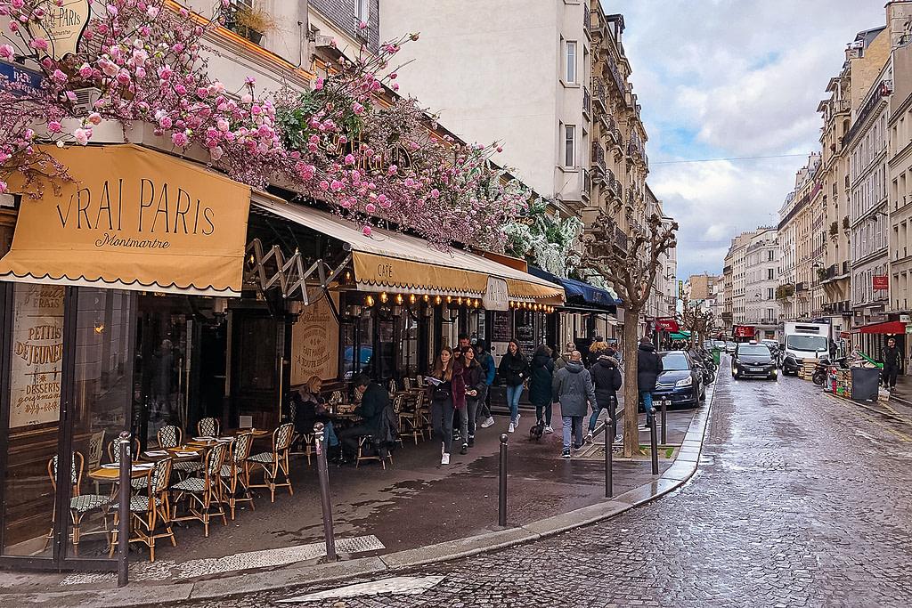 Montmartre streets, Paris