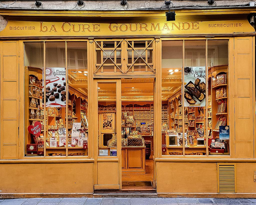 La Cure Gourmande bakery, Ile de la Cité, Marais, Paris