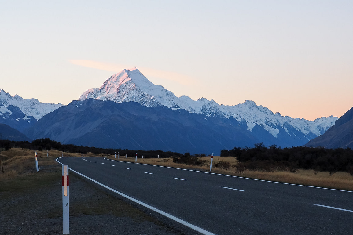 Mount Cook from the road